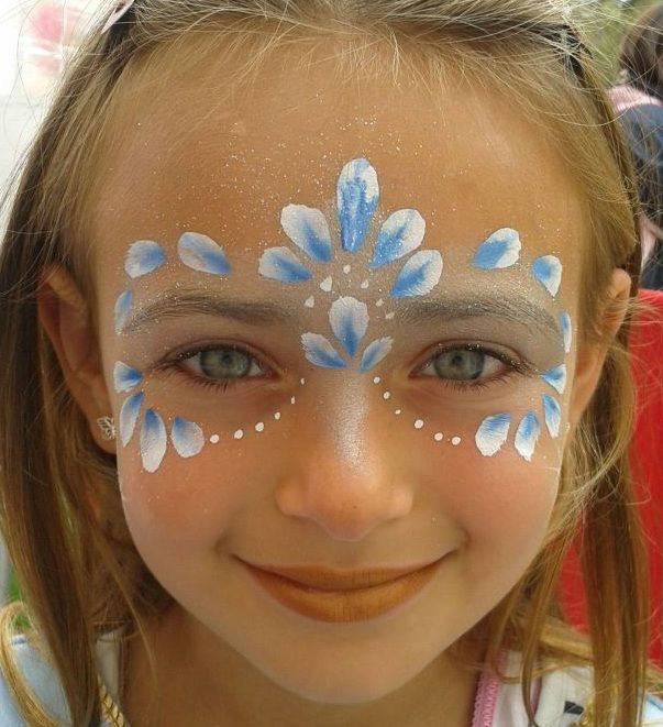 Simple Face Painting Idea Sheet