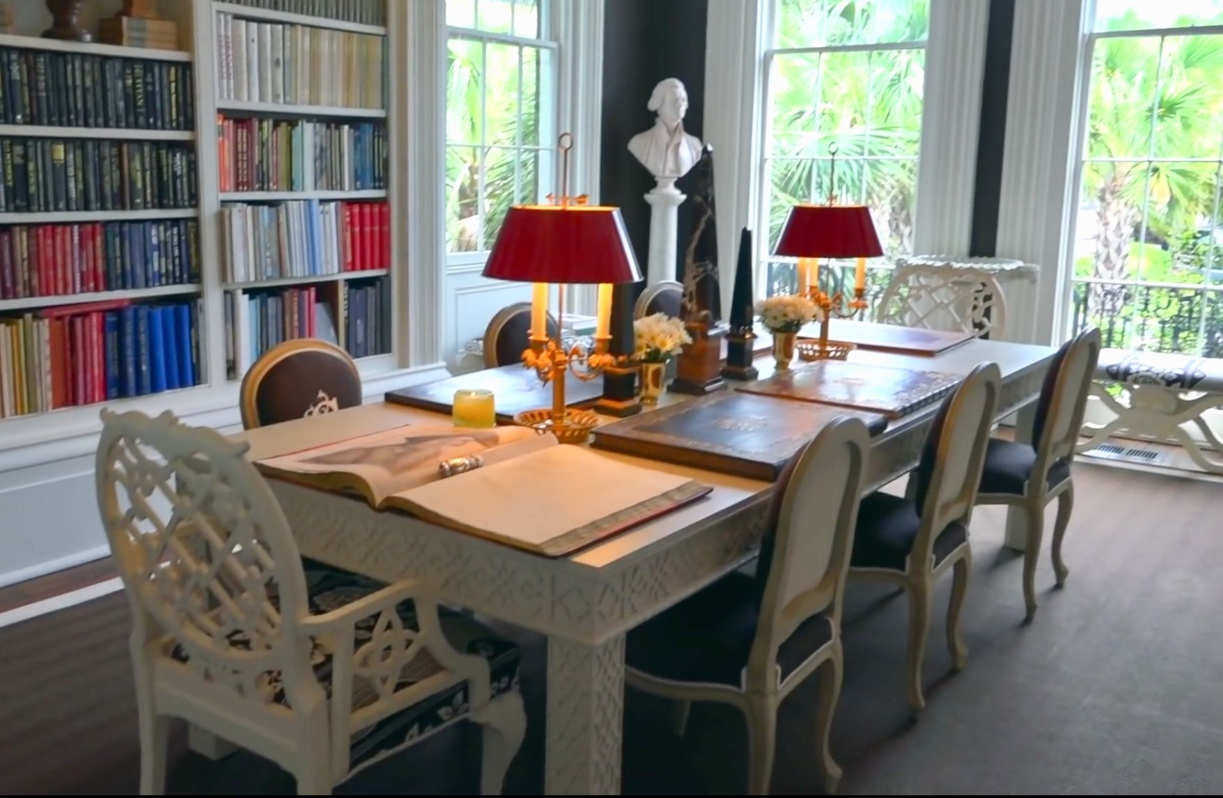 Dining Library Charleston