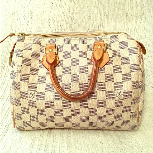 c2fb2439f834 Shop Women s Louis Vuitton Blue White size OS Satchels at a discounted  price at Poshmark.