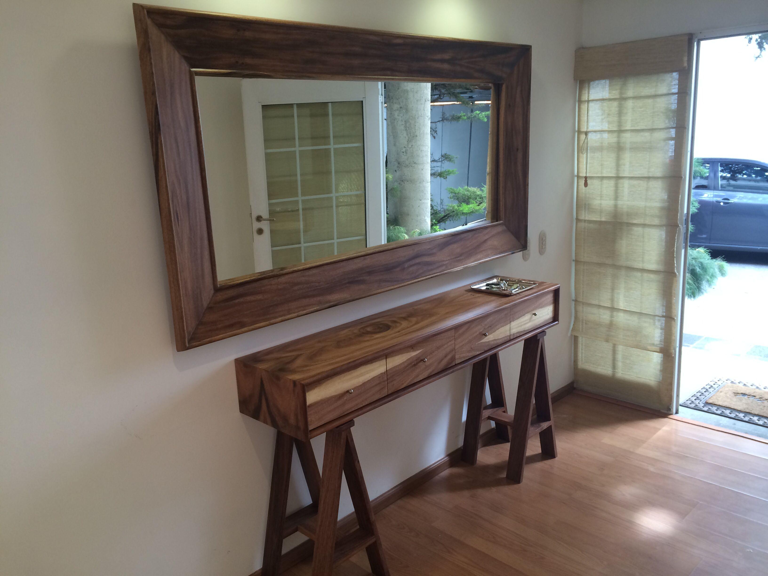 Credenza De Madera Moderna : Credenza madera de parota müthiş wood furniture
