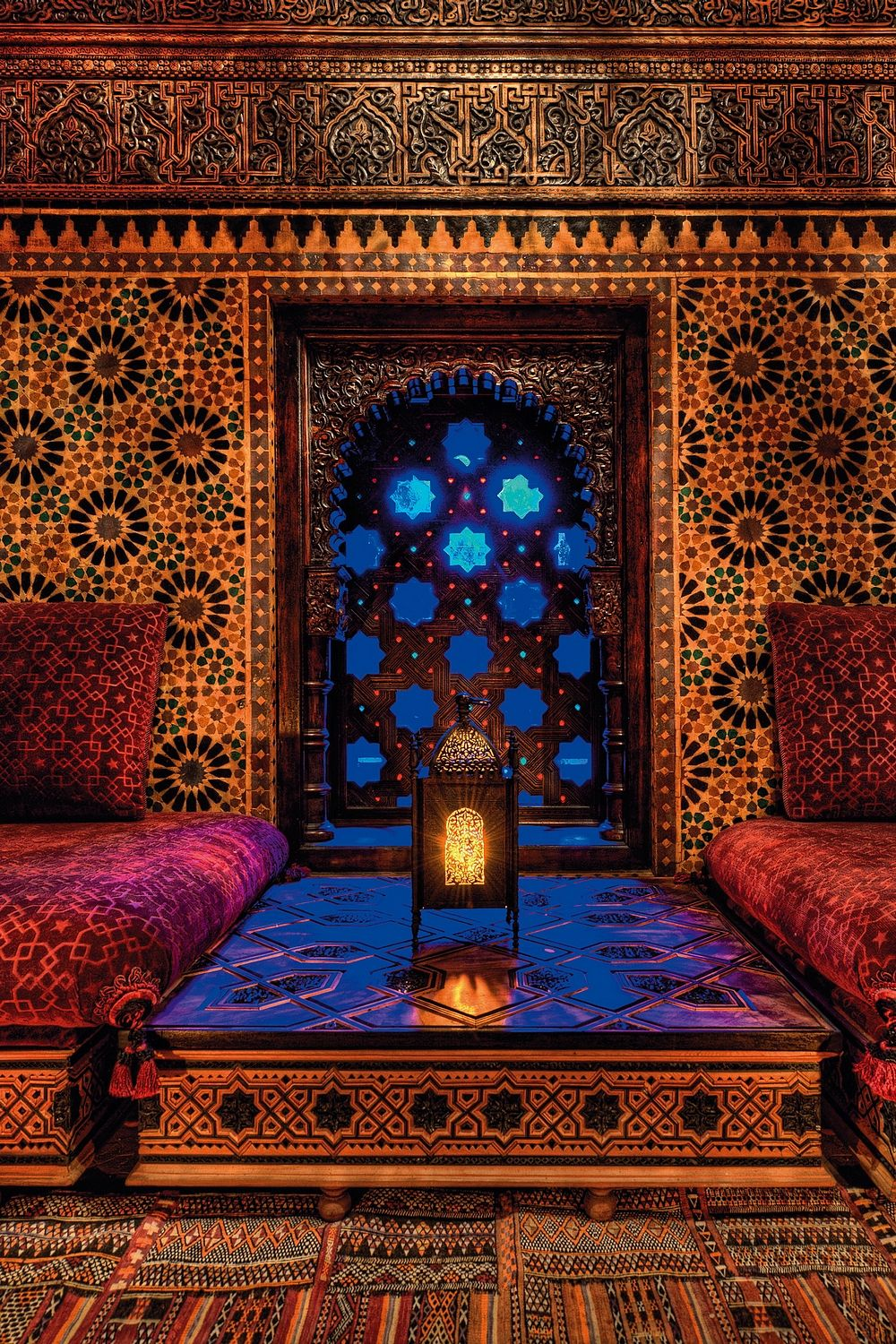 Moroccan Interior Design: Legendary Perfumer Serge Lutens Luxury Palace In Marrakech