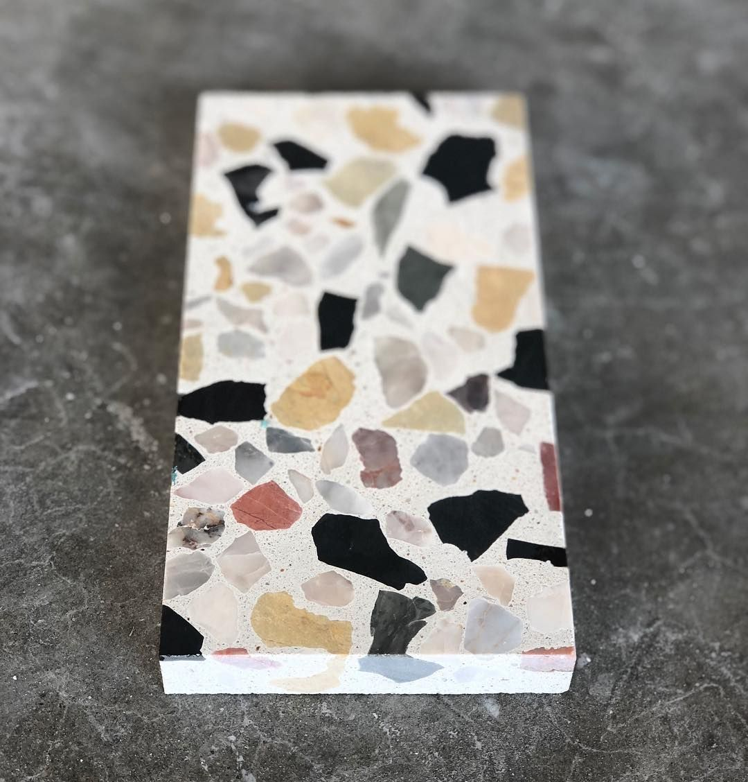 Currently In Terrazzo Heaven This Alabaster Mixed Chip Is