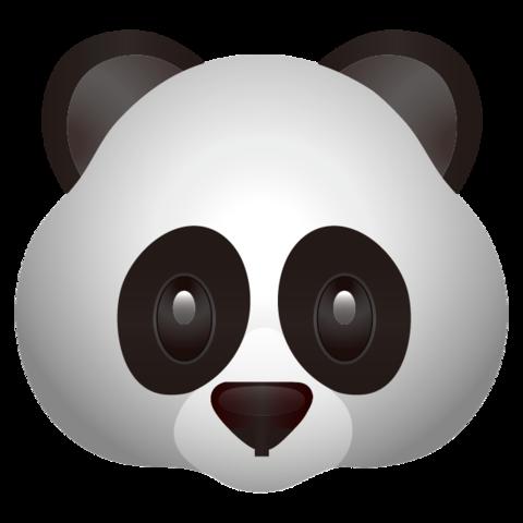 Panda Face Emoji Gravador De Tela Emoji Pandas