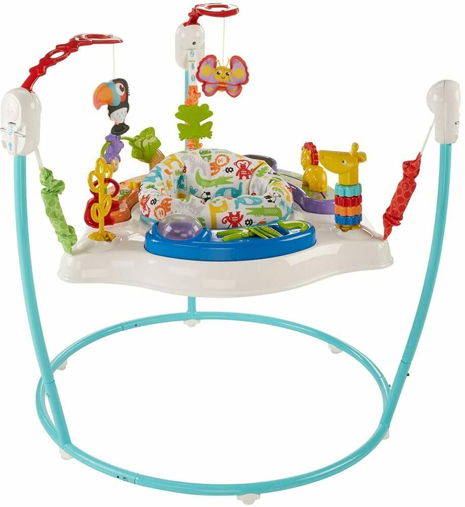 Fisher Price Animal Activity Jumperoo Blue Animal Activities Infant Activities Fisher Price