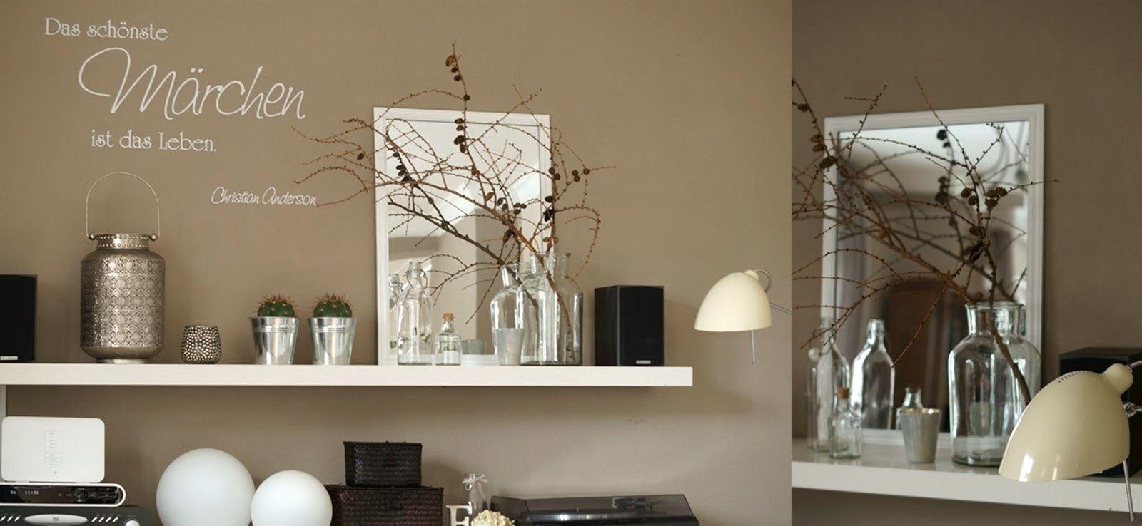 Bezaubernd Wohnzimmer Wand Design Beste Wahl