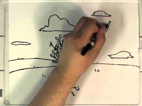 Whiteboard workout stop motion animation youtube think and paint - Pintura pizarra rotulador ...
