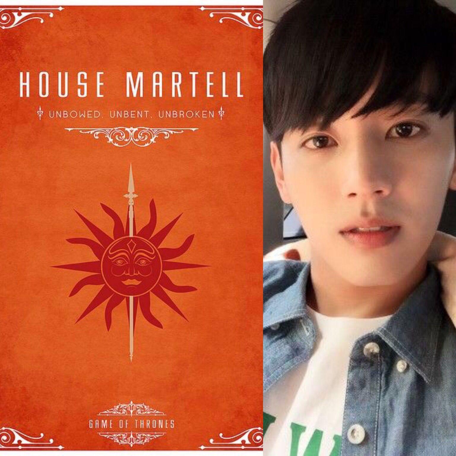 GOT&KPOP // House Martell // Seyong of MYNAME