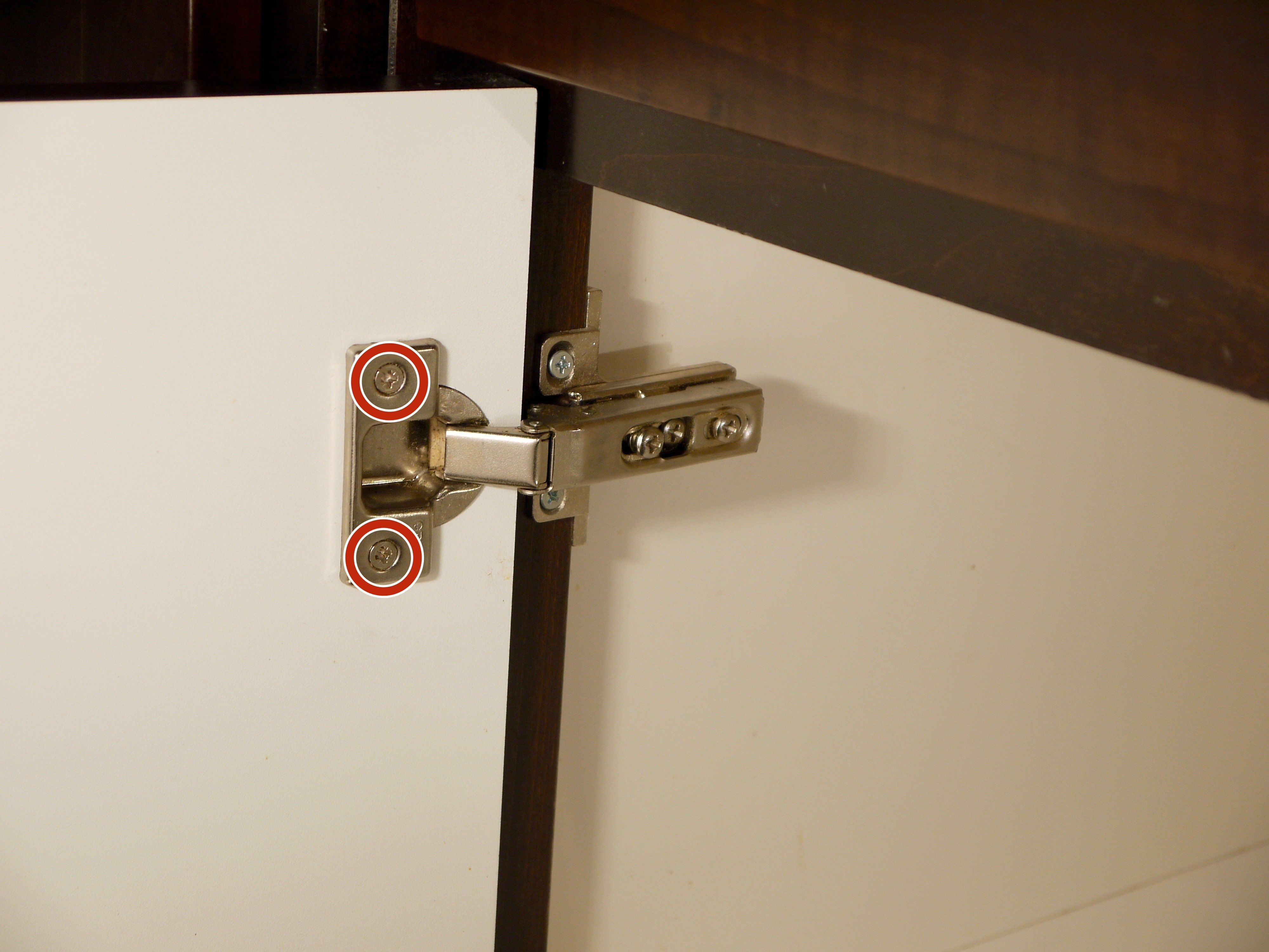 How To Replace Concealed Cabinet Hinges Kitchen Cabinets Door