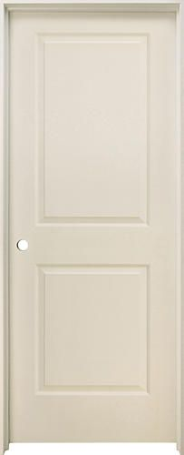 Mastercraft Primed Square Raised 2 Panel Prehung Interior Door At