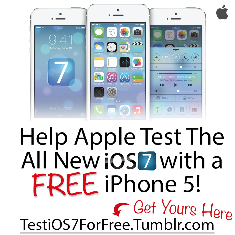 Free iphone 7 test and keep