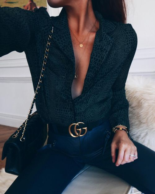 8a6d54aa9 Lace top and Gucci belt | streetstyle | winter look | winter style | winter  outfit inspiration | fashion inspo