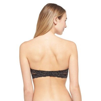 5aeed8a1c7 Women s Convertible Strapless Push-Up Bra - Xhilaration Black