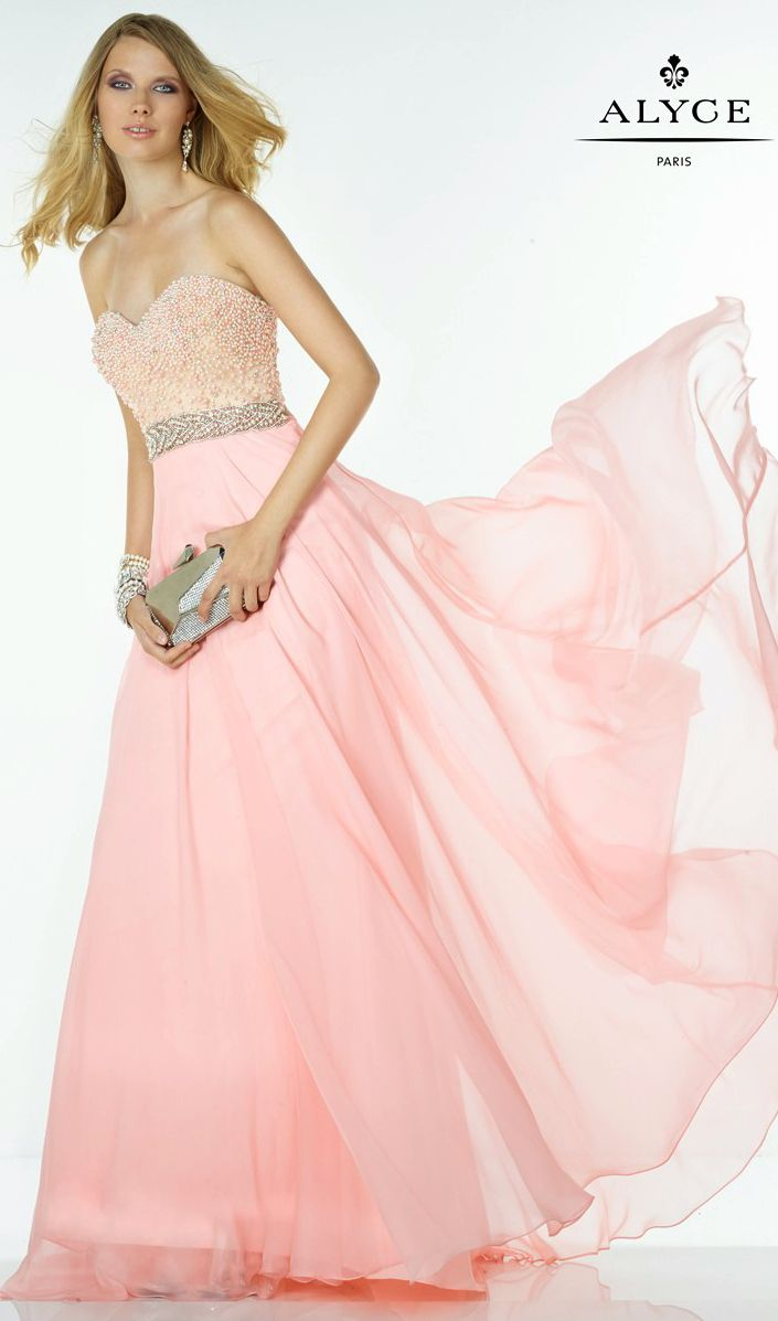 Prom Dresses Evening Dresses by Alyce Paris<BR>aay6594<BR>Strapless ...
