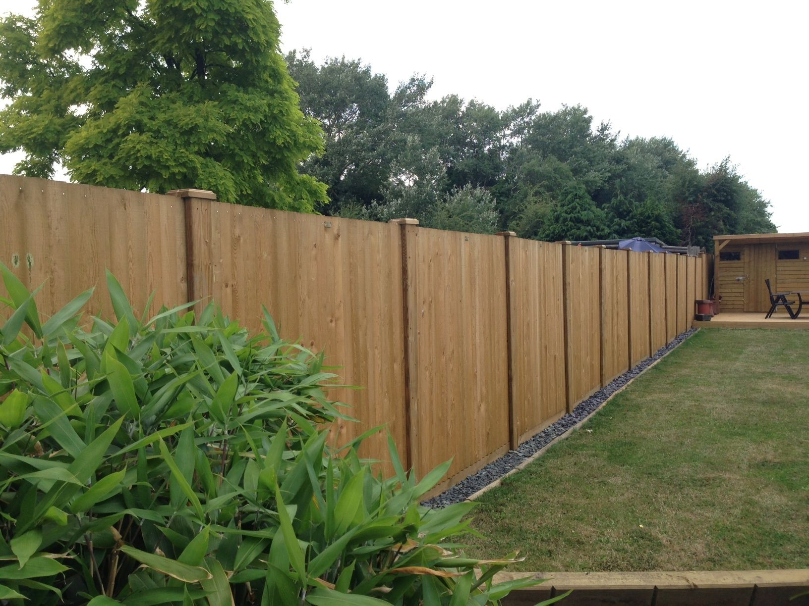 Jacksons Fence Panels And Slotted Fence Posts | Customer Project #garden # Fence #fencing