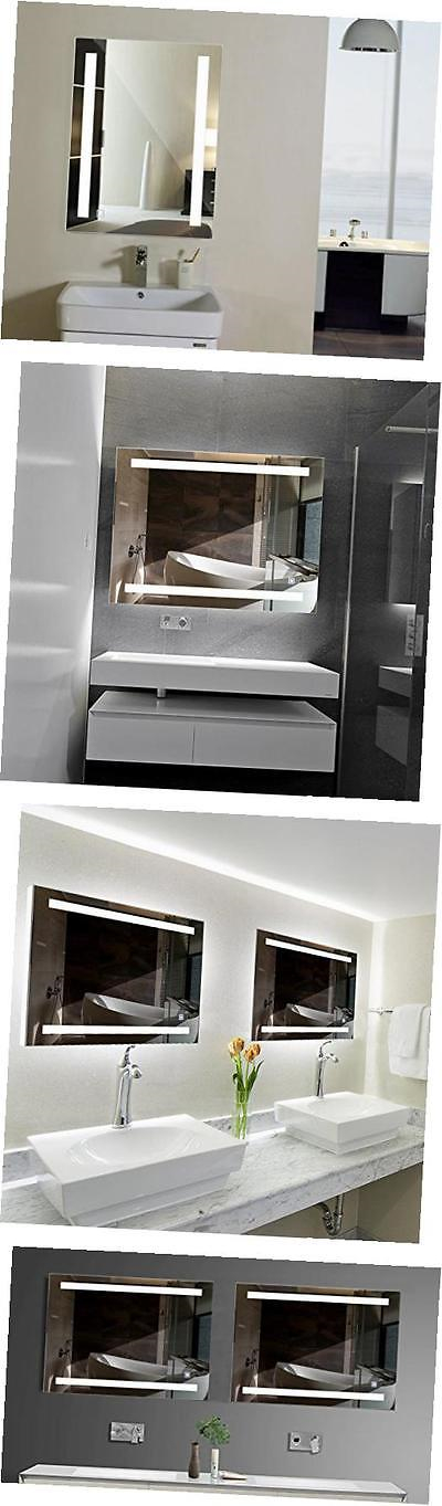 Mirrors 133693 Dimmable And Anti-Fog Led Backlit Mirror Wall Mount