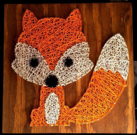 Nursery Fox Made To Order van KaiannaKreations op Etsy