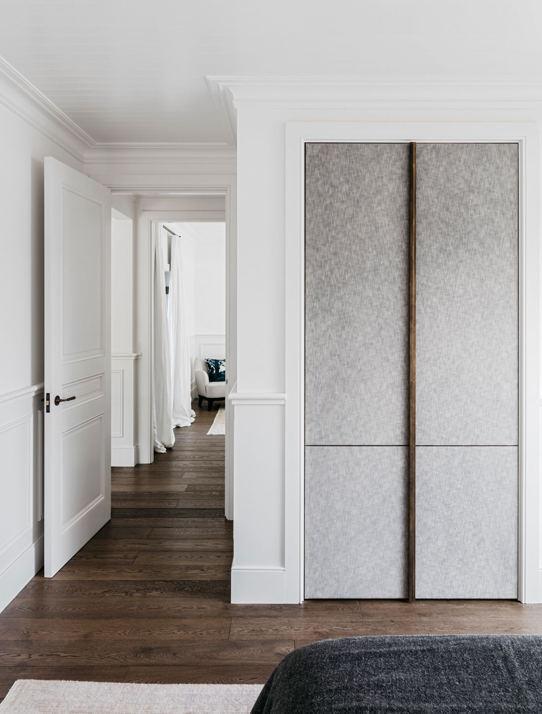 Closet In A Sydney Vacation Home By Alexander Co Photo By Felix