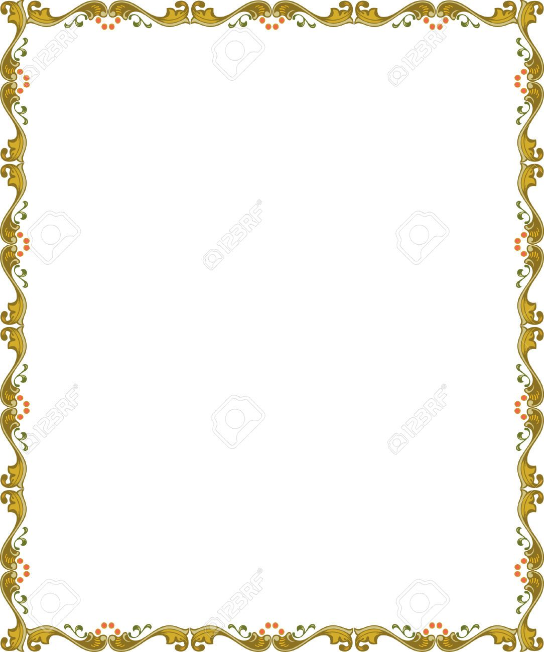 image result for thin certificate borders word邊框 pinte