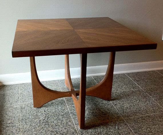 Mid Century Set Of 2 Tables Broyhill Brasilia Coffee And Side