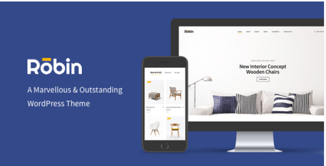 Robin v1 7 4 - Furniture WooCommerce WordPress Theme