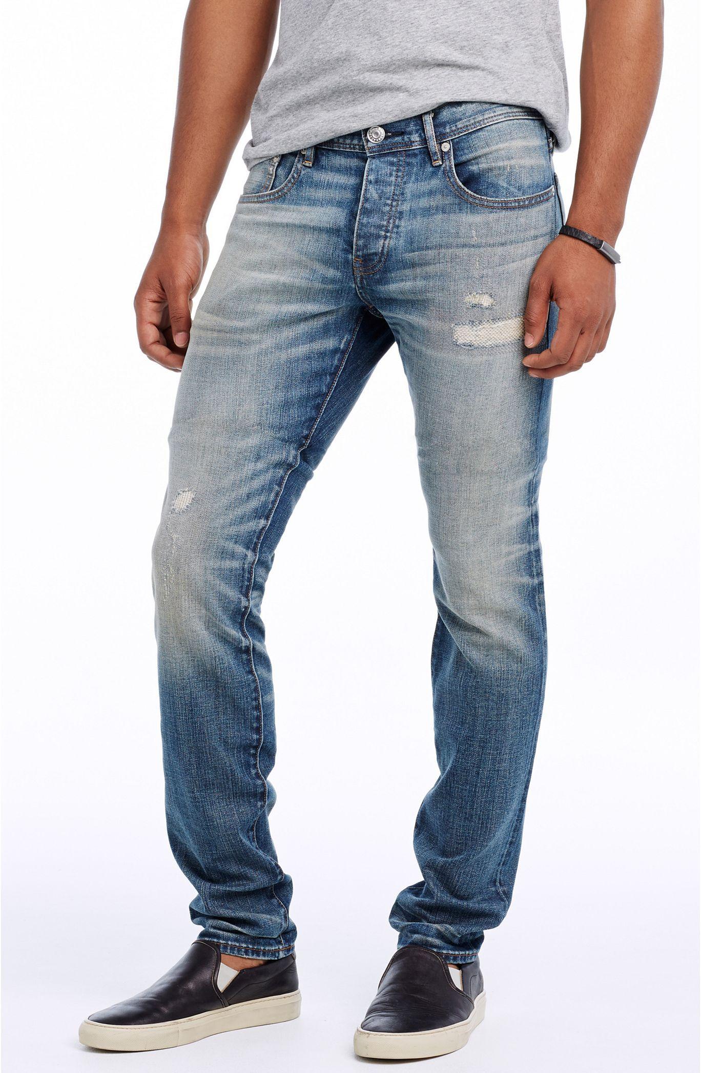 b5a9941f Japanese Selvedge Super Skinny Jean - Denim - Mens - Armani Exchange ...