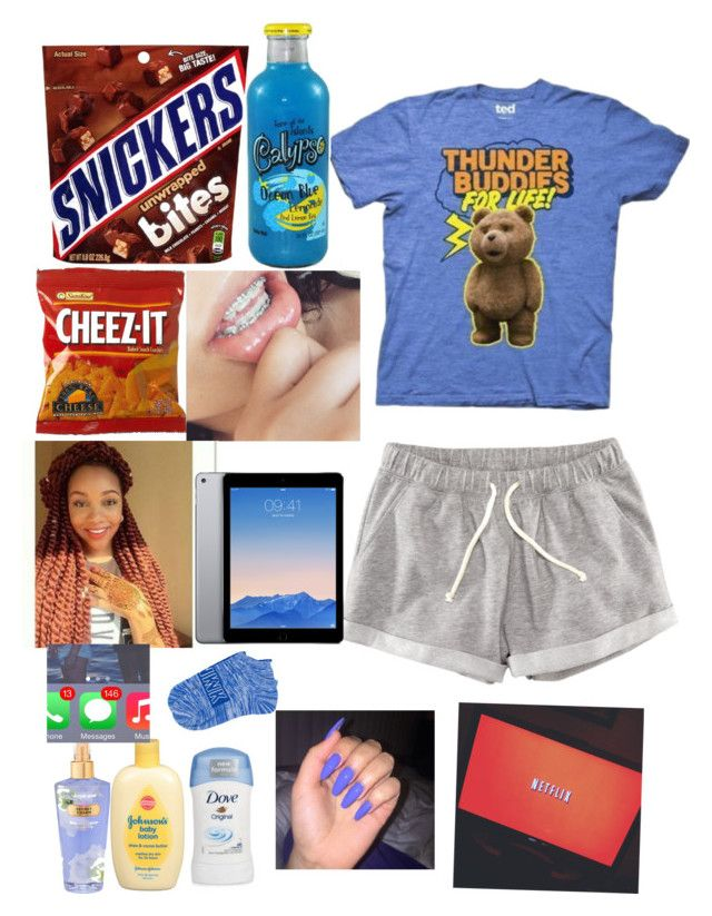 """Just Chillin#3"" by babybreee on Polyvore featuring H&M, Victoria's Secret and Johnson's Baby"