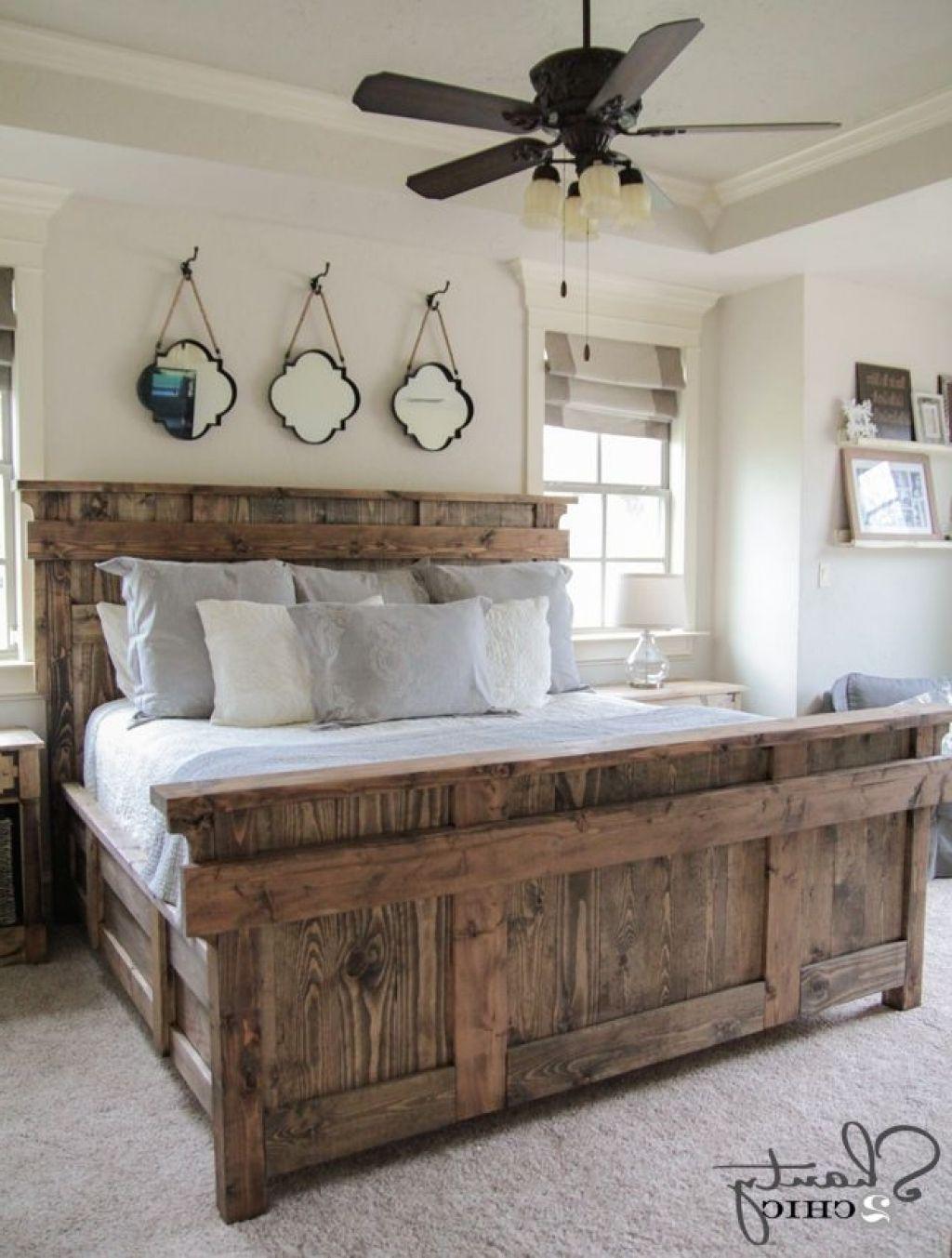 Holz Bett, King Size Frames #Bettrahmen | Bettrahmen | Pinterest