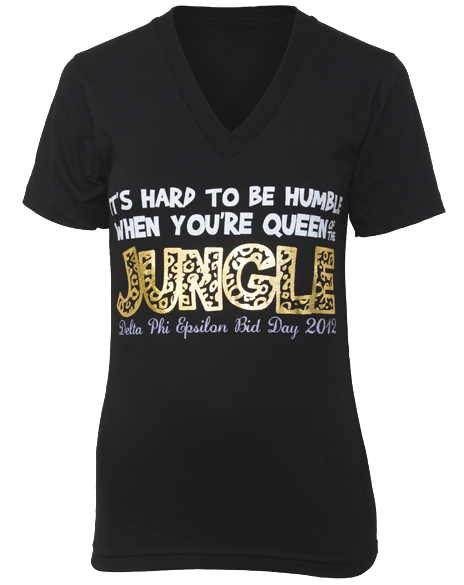 delta-phi-epsilon-queen-of-the-jungle-v-neck-front