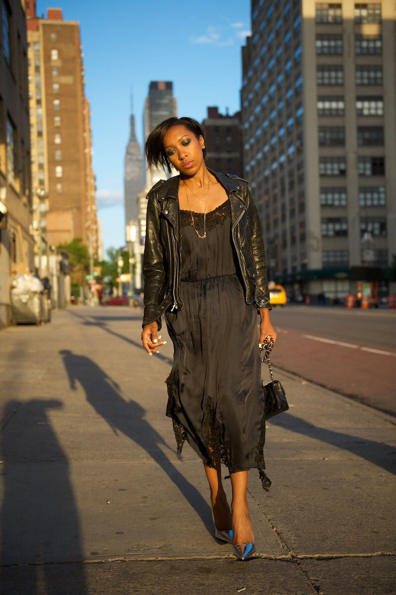 H&M trend nightie dress