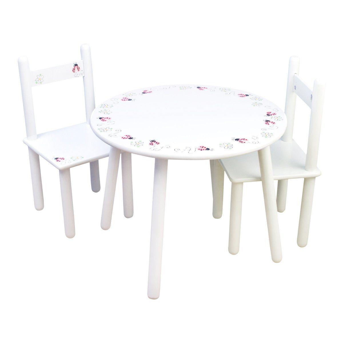 chaise Ladybug Set table