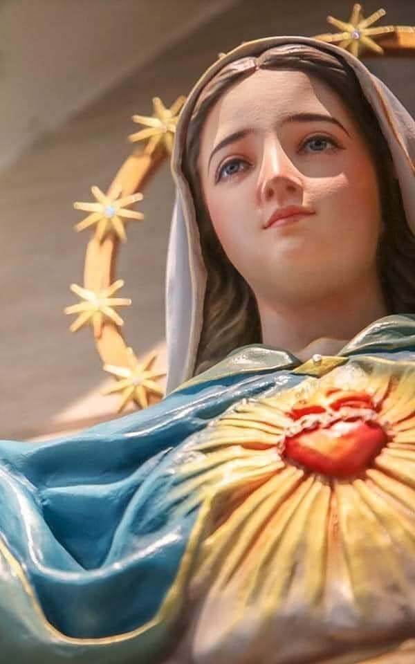 Virgen del silencio preferida del Señor, corazón de madre y consuelo en el dolor.  Corazón de María guárdanos del mal y danos tú la fortaleza para Cristo predicar venciendo los egoismos superando los problemas