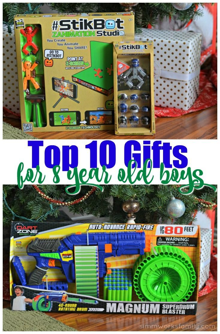 Top 10 Gifts For 8 Year Old Boys
