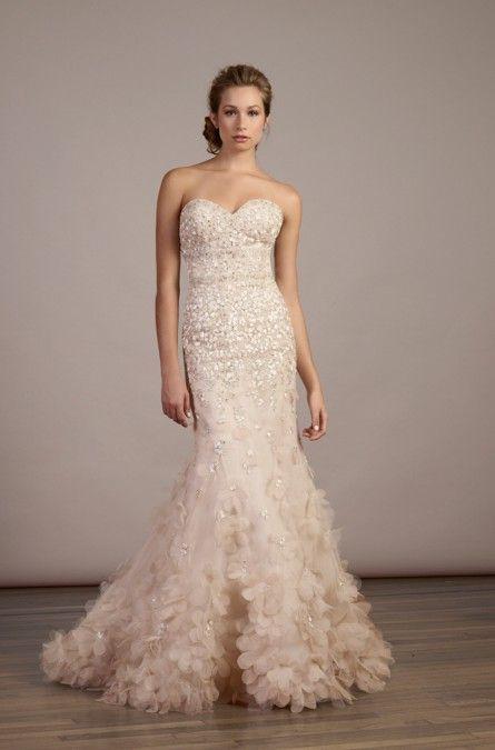 Style 5887 Liancarlo Wedding Dresses Spring Wedding Dress Gold Wedding Dress