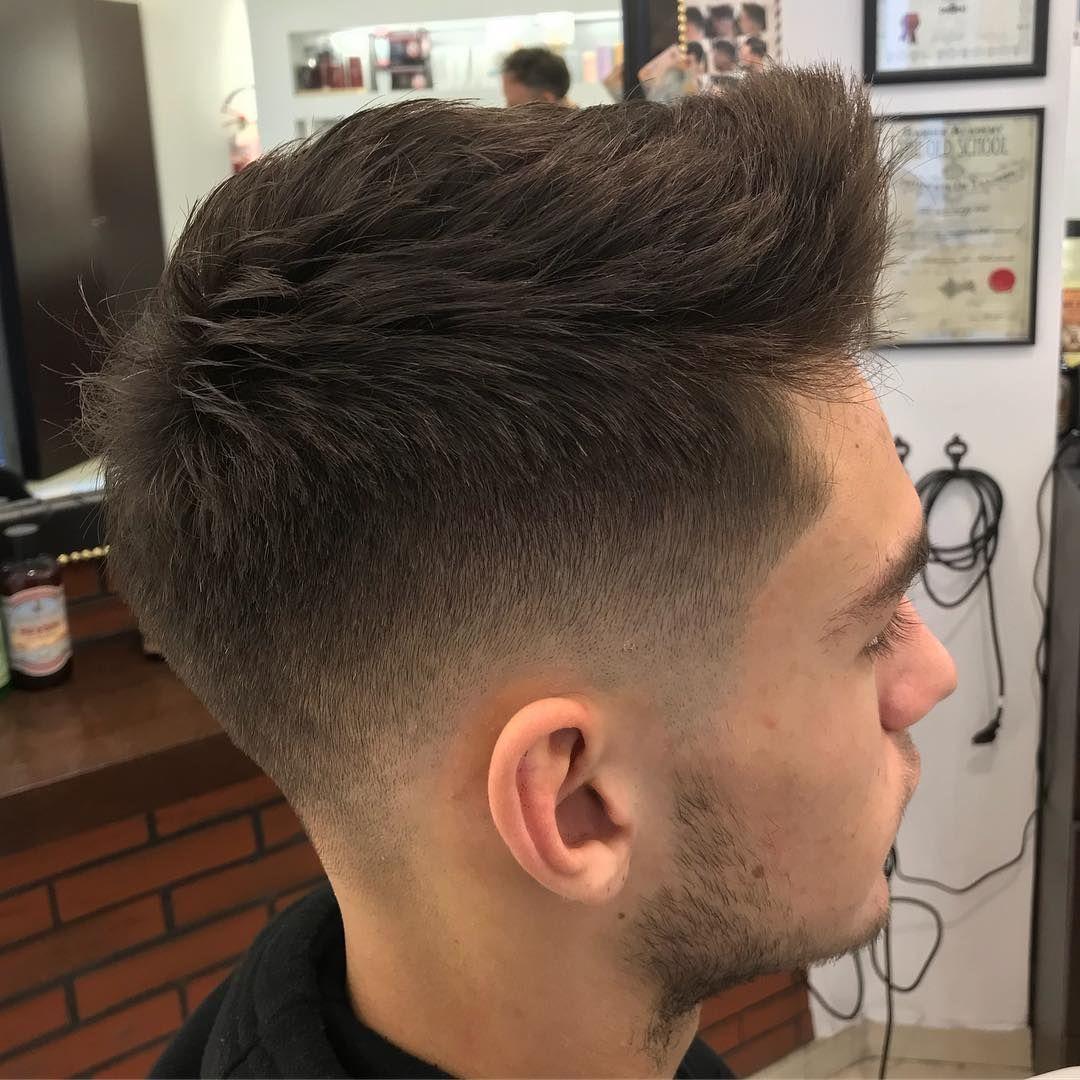 318 Likes 2 Comments Axel Comolli Axel Barber Comolli On Instagram Haircut Menshair Thebarbe Thin Hair Men Mens Hairstyles Short Mens Haircuts Short