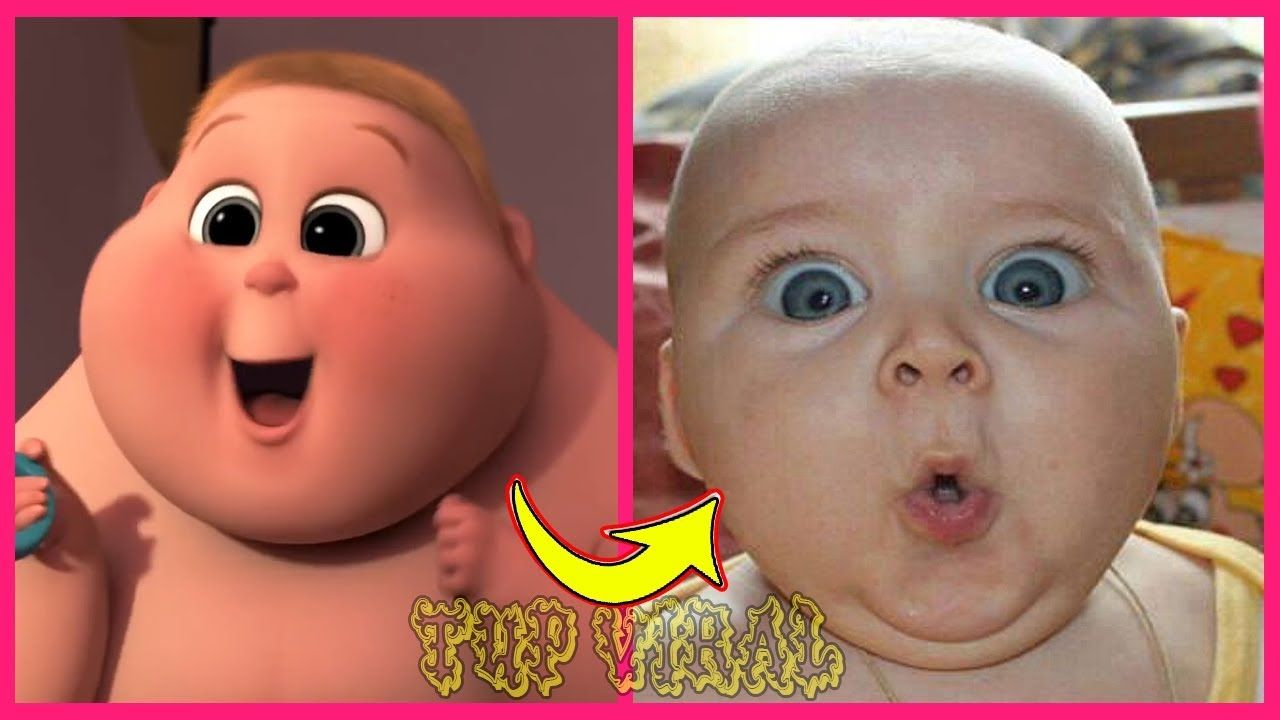 The Boss Baby Characters In Real Life 2019 Video Tup Viral
