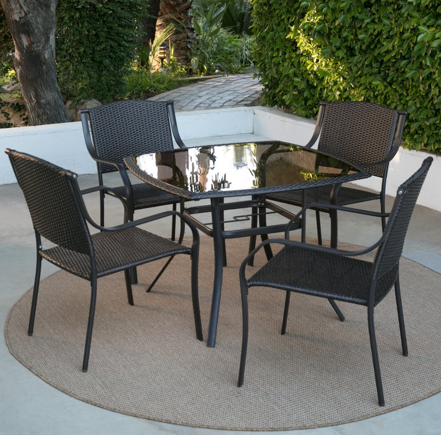 Glass Top Patio Dining Set Shopping Pinterest Patio Outdoor