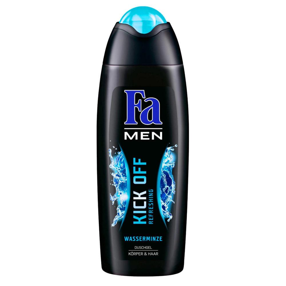 Ÿl oz fa men kick off shower gel water mint body u hair