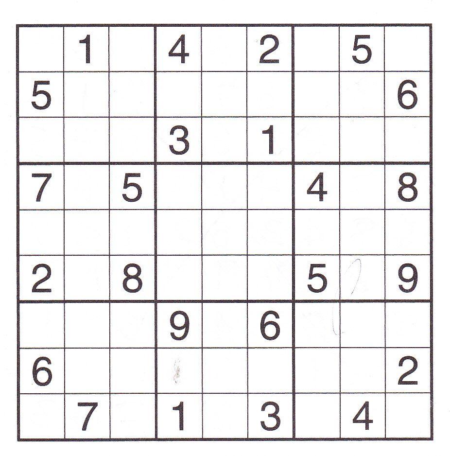 sudoku puzzles | Welcome to Printable Sudoku Puzzles | sudoku ...