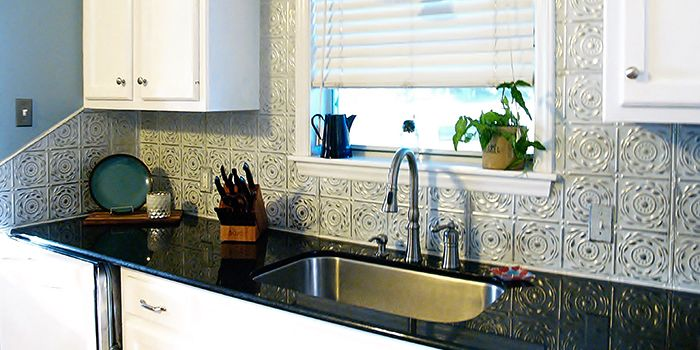 Shop By Project - Tin Backsplash American Tin Ceilings in ...
