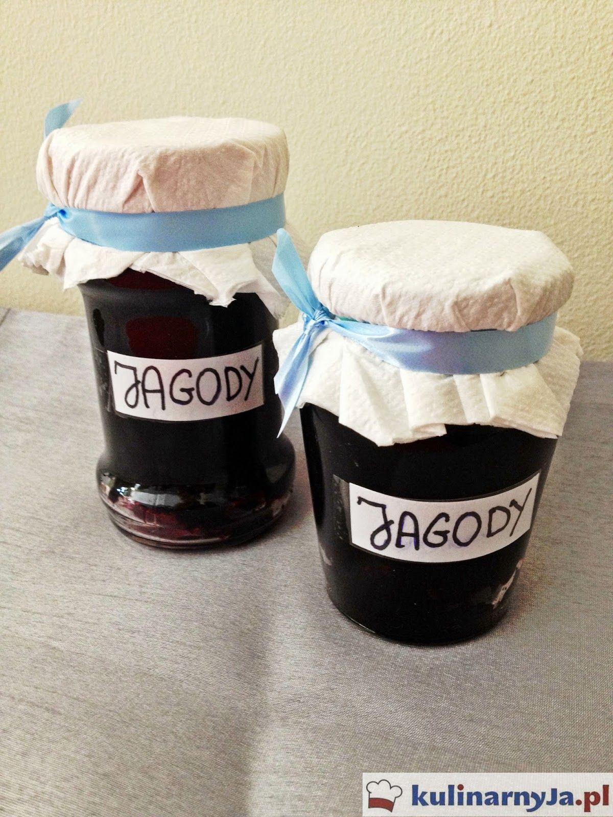 Konfitura z jagód