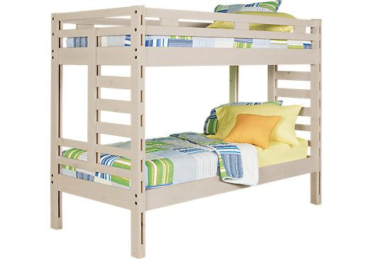 Picture Of Creekside Stone Wash Twin Twin Bunk Bed From Beds Furniture With Images Twin Bunk Beds Bedroom Furniture Stores Kids Bunk Beds