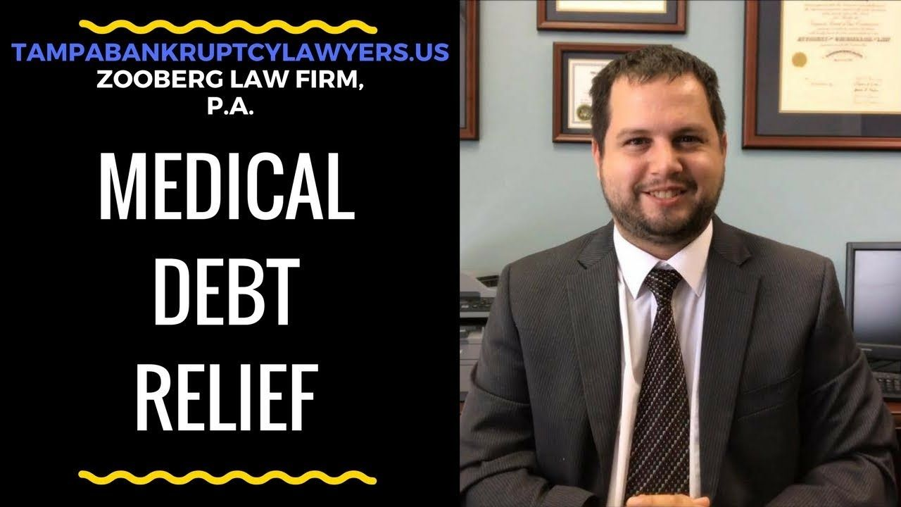 Debt Relief From Medical Bills Bankruptcy Attorney Peter