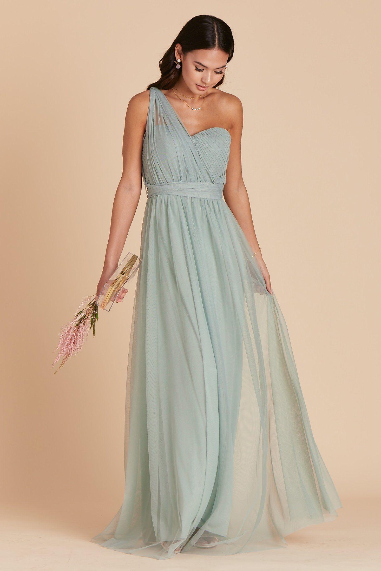 Christina convertible dress sage sage green bridesmaid