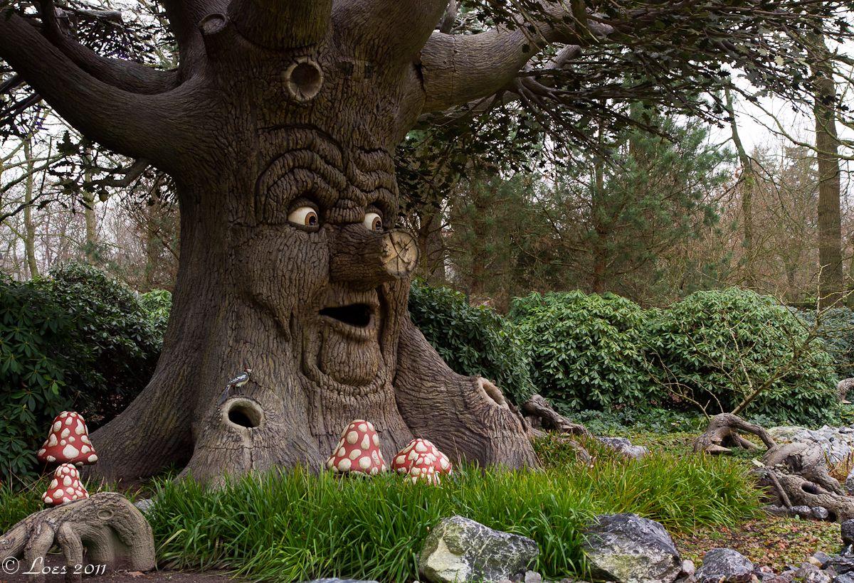 Speaking Tree De Efteling Sprookjesboom Doornroosje Gratis Afdrukbaar