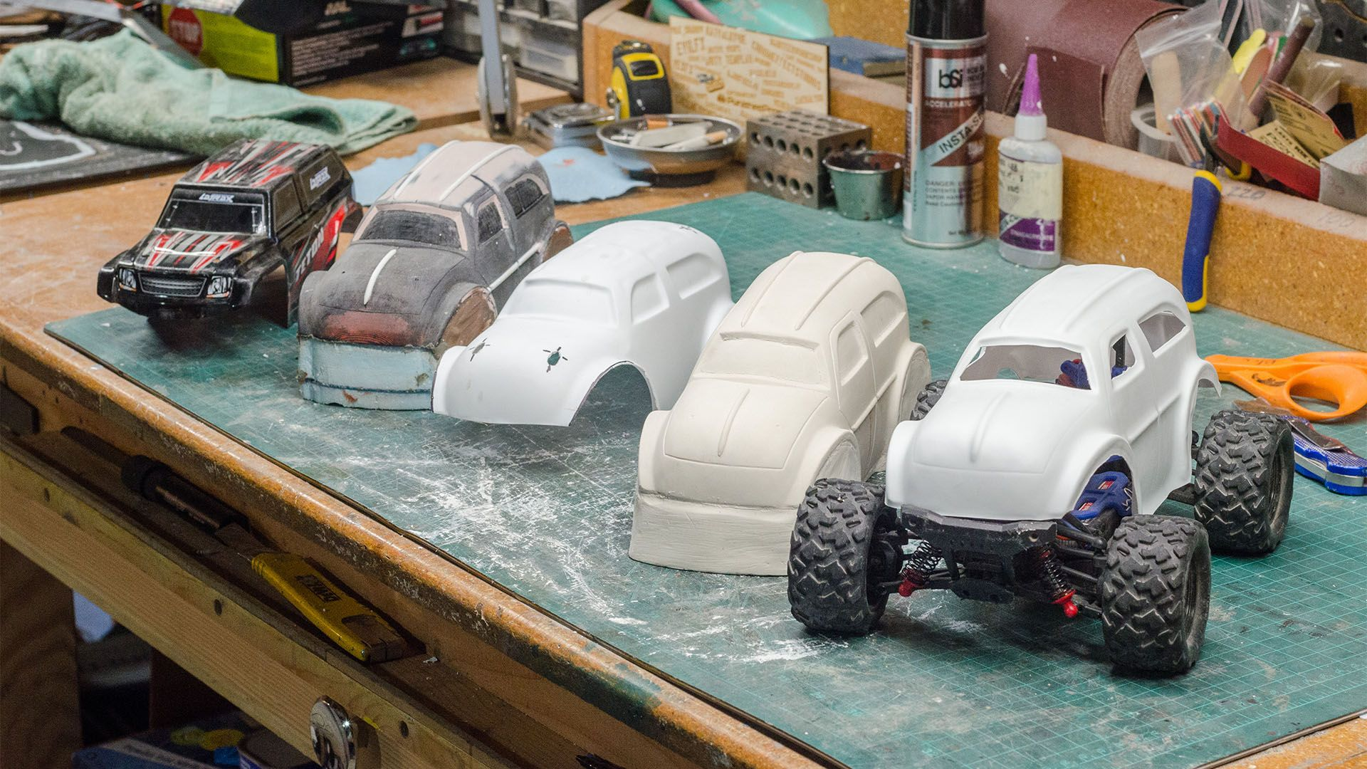 Building A Custom Rc Body Shell Car Radio Controlled Boats Rc Car Bodies
