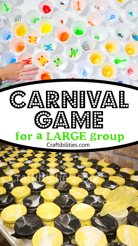 Photo of Large PUNCH CUP GAME – carnival PRIZE IDEA – easy, fun, & inexpensive – Classroo…