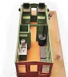 Caboose Interior Layout - Bing images | Caboosky | Hut house, Train
