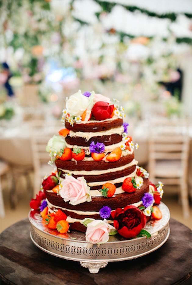 We Talk Wedding Food With Natasha From Honestly Healthy Wedding - Healthy Wedding Cakes