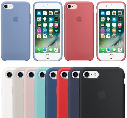 Funda Silicone Silicona Case Iphone 5/se Apple Original Soft