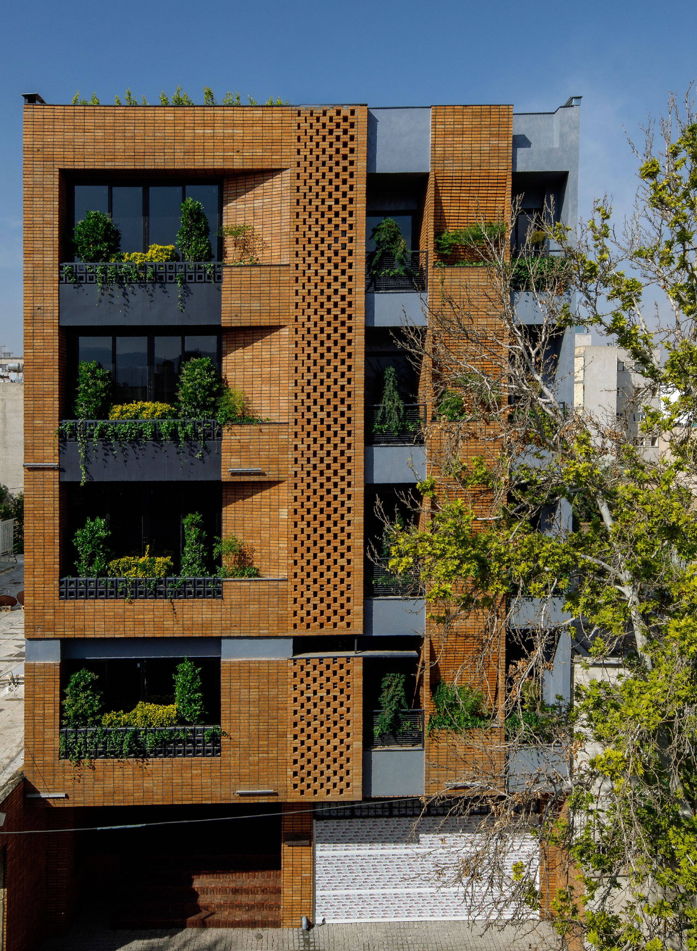 Architect Saman Ahmadi Facade Architecture Design Facade Architecture Residential Architecture